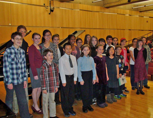 Photo of Valley Piano students
